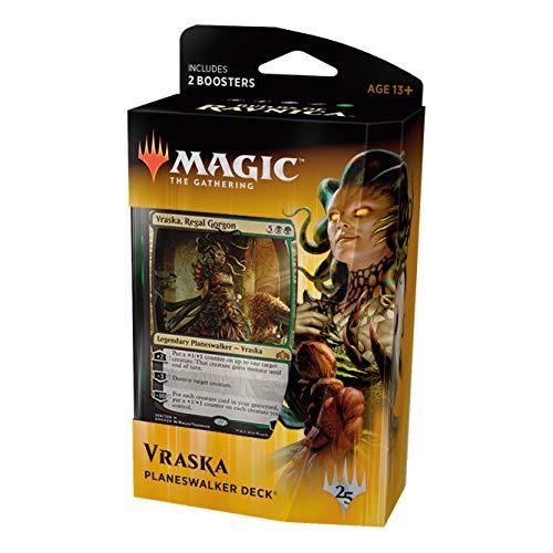 Magic The Gathering: MTG: Guilds of Ravnica Planeswalker Deck - Vraska (Black/Green) w/Two Booster Packs