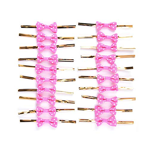 Fantastic Prices! NUOMI Bowknot Metallic Twist Ties Wire for Candy Cookie Cake Bag (pack of 60) (Ros...