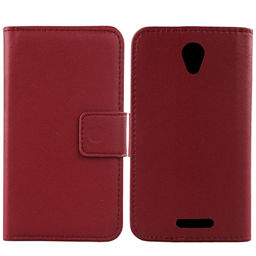 Gukas Design Echt Leder Tasche Für Alcatel One Touch POP 4 5051D 5