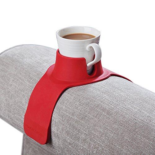 CouchCoaster, der ultimative Getränkehalter in Einheitsgröße, Rot