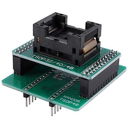 Noblik Andk Tsop48 Nand Nur für Xgecu Minipro Tl866Ii Plus Programmierer für Nand Chips Tsop48 Adapterbuchse