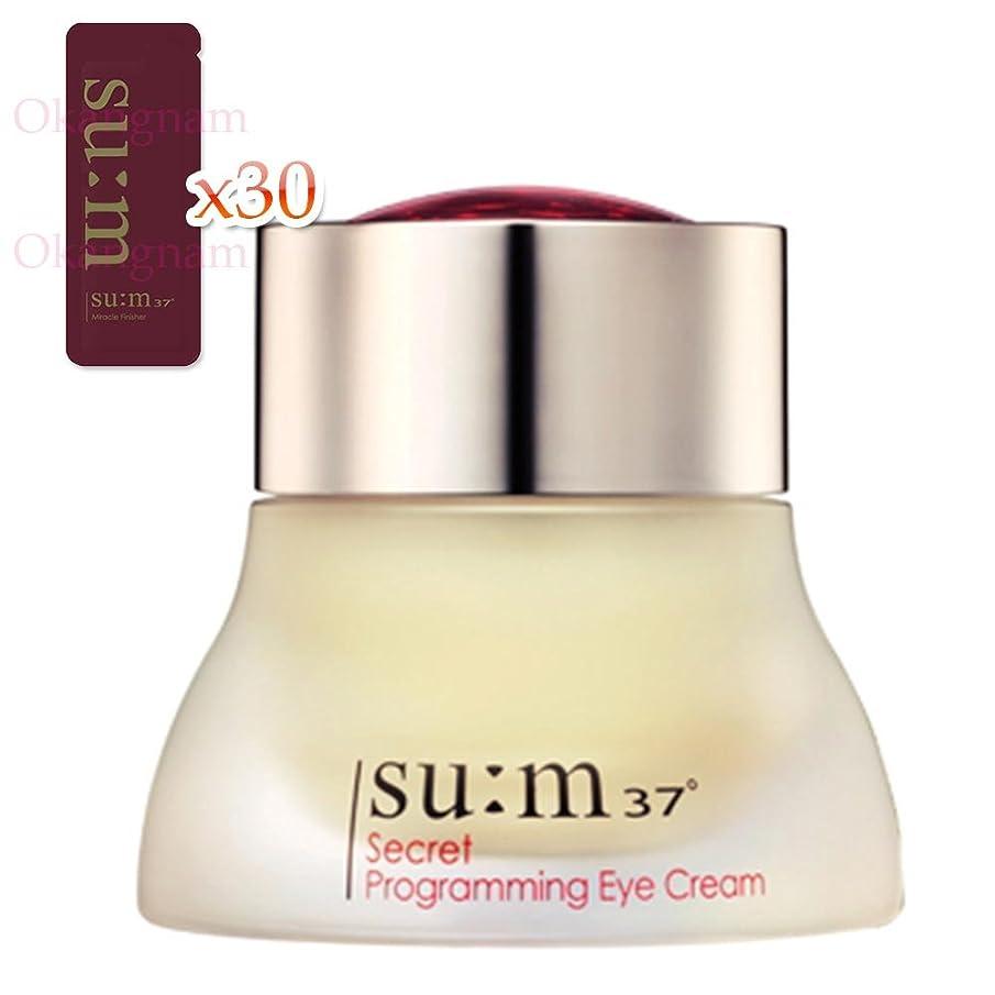 津波ぺディカブ商品[su:m37/スム37°] SUM37 Secret Programming Eye Cream 20ml/SC07 sum37 シークレット プログラミング アイクリーム +[Sample Gift](海外直送品)