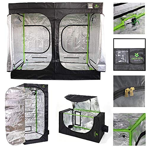 Green Box Hydroponics Grow Tent 3m x 3m x 2m