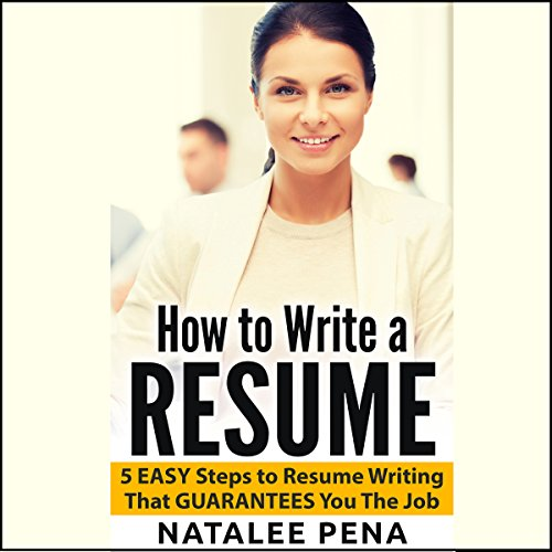 How to Write a Resume audiobook cover art