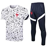 L.H Good Looking Football Clothing Club Loose Casual Men's Home Sports Suit Training Suit Jersey Tops and...