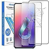 ebestStar - [Pacco x3 Vetro Temperato Compatibile con ASUS Zenfone 6 ZS630KL 6Z Protezione Schermo Pellicola, Anti Shock Anti Rottura Anti graffio [ZS630KL: 159.1 x 75.4 x 9.2mm, 6.4'']
