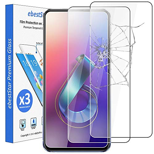 ebestStar - [Pacco x3 Vetro Temperato Compatibile con ASUS Zenfone 6 ZS630KL 6Z Protezione Schermo...