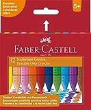 Faber-Castell 122520Kreide Kunststoffen Grip effacables 12x