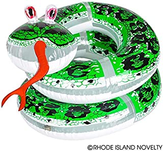 Rhode Island Novelty 60-Inch Inflatable Coil Snake