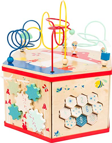 7-in-1 Small Foot Wooden Toys XL Activity Center Iconic Motor Skills Move it $57.16 + Free shipping