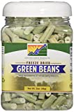 Mother Earth Products Freeze Dried Green Beans, quart Jar