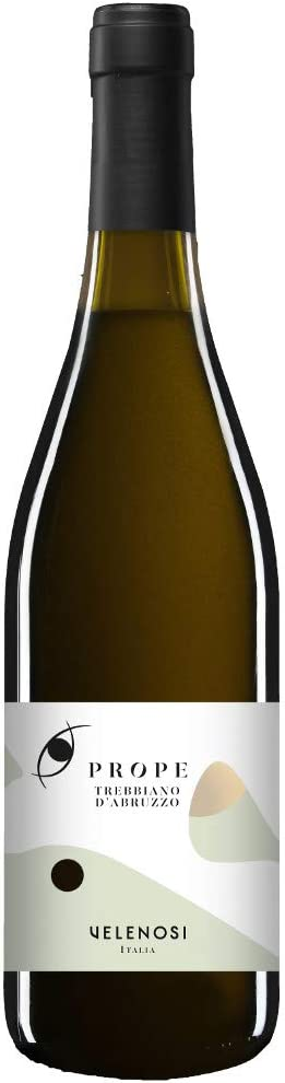 VELENOSI vinos - Abruzzo marca PREPO Trebbiano D'Abruzzo D.O.C. Vino blanco italiano (1 botella 75 cl.)