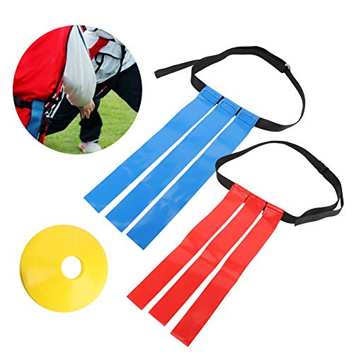 Regalo de Julio Etiqueta de Cintura de fútbol Impermeable, cinturón con Hebilla Doble D Bandera de cinturón de fútbol a Prueba de Rayos Ultravioleta, para Deportes al Aire Libre