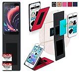 reboon Hülle für HTC One X10 Tasche Cover Case Bumper | Rot | Testsieger