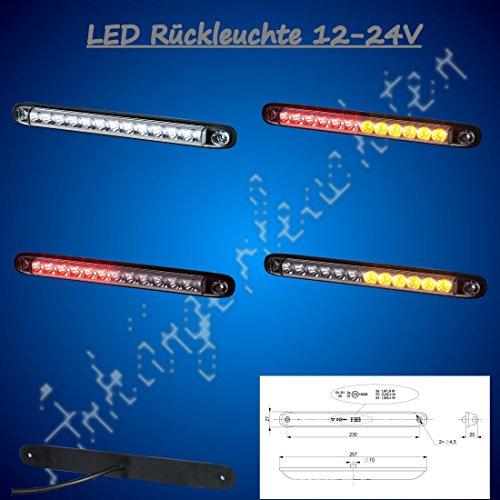 Achterlicht achterlicht LED achterlicht vrachtwagen aanhangwagen vrachtwagen caravans bedrijfsvoertuigen trailer 12/24V