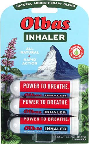 Olbas Inhaler Aromatherapy/Aromatic Inhaler, 0.01 Oz, 3-Pack