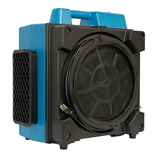 XPOWER X-3380 Pro Clean Eco Washable Filter 4 Stage Filtration Purifier System, Negative Air Machine, Airbourne Cleaner, Scrubber for Home and Commercial Use