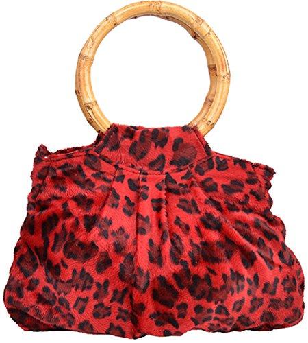 Küstenluder Damen Tasche Angela Leo Tiki Bamboo Braun