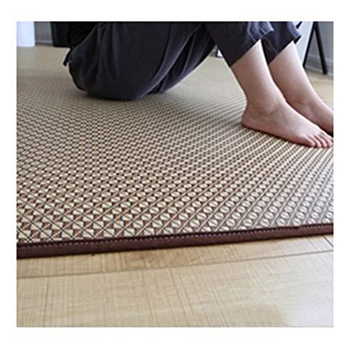 GUORRUI Sommerschlafmatte Teppich Vermischt Glatt Schweiß Schallschutz Kein Grat Restmatte Wohnzimmer, 5 Stile, Größe Kann Besonders Angefertigt Werden (Color : E, Size : 150x200cm)