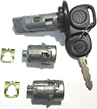 New PONTIAC GM OEM Chrome Ignition//Doors//Trunk Lock Key Cylinder Set With Keys