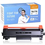 myCartridge PHOEVER Compatible Toner Cartridge Replacement for Brother TN770 TN-770 TN760 Super High Yield Toner for HL-L2370DW HL-L2370DWXL MFC-L2750DW MFC-L2750DWXL (Black, 1-Pack)