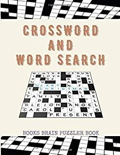 Crossword And Word Search Books Brain Puzzler Book: The Clever Kid's Activity Book, Dversity Training Activity Book, Webst...