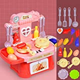 MINGDIAN Juego de Cocina de 20 Piezas para niñas, niños, Frutas, Verduras, té, Juguete para niños, Desarrollo temprano, Juego Educativo, Juego de Surtido de Alimentos