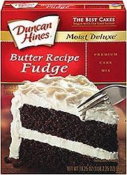 Duncan Hines Signature Fudge Butter Recipe Cake Mix 165-Oz Boxes (Pack of 6)