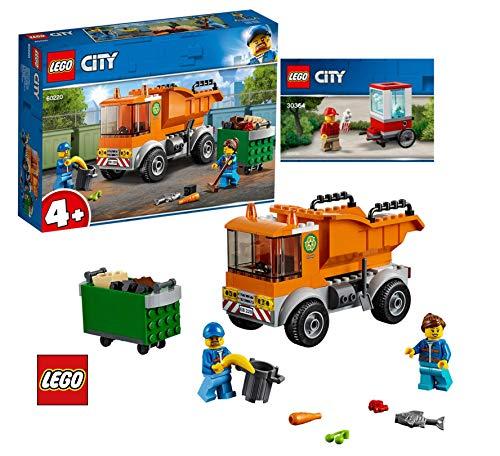 LEGO City 60220 Müllabfuhr City 30364 Popcorn Wagen
