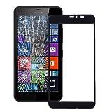 alsatek - Repuesto de Cristal Delantero para Microsoft Lumia 640 XL, Color Negro