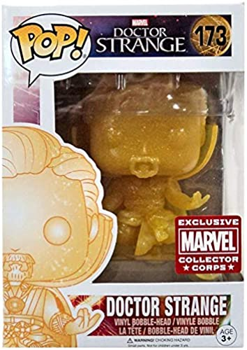 Doctor Strange Pop  Exclusive Marvel Collector Corps Exclusive Vinyl Figure