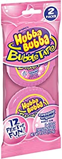 Hubba Bubba Original Bubble Gum Tape, 2 ounce pack (24 Rolls total)