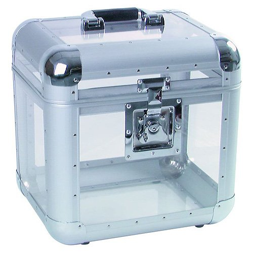 Roadinger 30110038 Aluminium 75/25 abgerundet Platten-Hülle acryl