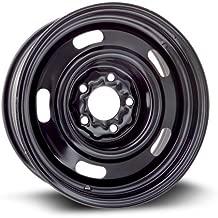 RTX, Steel Rim, New Aftermarket Wheel, 15X6, 5X114.3, 70.6, 7, black finish X40709
