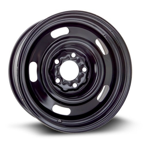 RTX, Steel Rim, New Aftermarket Wheel, 15X6, 5X114.3, 70.6, 7, black finish X40709