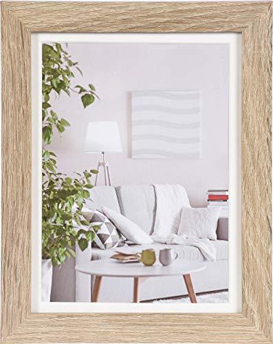 Henzo Modern 15x20 Frame donkerbruin fotolijst, MDF, middenbruin
