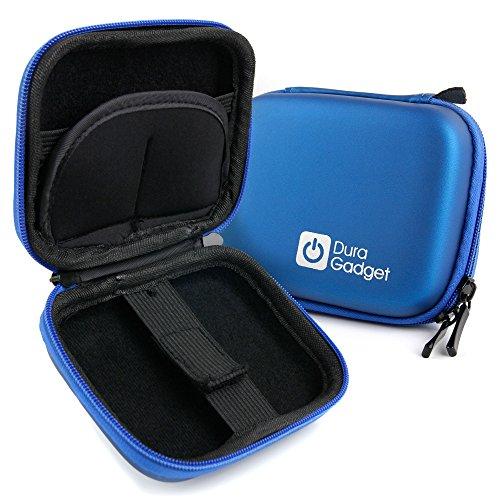 DURAGADGET Estuche Rígido para Pulsera Actividad VeiMiues/Pulsera Actividad MiuVei Willful Smart Watch/Diggro R1 - Azul