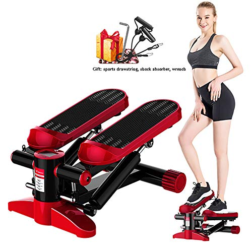 Sale!! Stepper Home Thin Weight Loss Machine with LCD Display and Resistance Band, Small Multi-Funct...