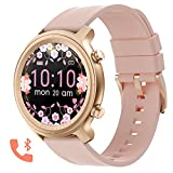 Bluetooth Call Smartwatch for Men Women Fitness Tracker Watch with Heart Rate and...