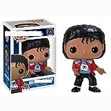 Vinyl Bobble-Head POP Michael Jackson Auto Dekoration Billie Jean Military (Color : D)