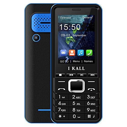 I KALL K33 Dual Sim Keypad Mobile (Blue, 2.4 Inch)