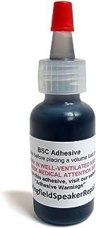 Pro-Grade Black Rubberized Speaker Repair Adhesive Glue (1/2 oz)