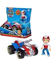 PAW Patrol, Ryder's Rescue ATV-voertuig met verzamelfiguur, voor kinderen vanaf 3 jr.