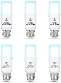 LED電球 E26口金 T形 昼白色 60W形相当 7W 700lm 全方向タイプ Motronic EFD25・EFD15 代替推奨 断熱材施工器具対応 斜め付き 横挿し向け専用 密閉形器具対応 PSE認証取得(6個入)