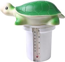 Chemikalienschwimmer, Kleine Schildkrö Boje, Te Chlorspender Pool Mit Thermometer, Benutzt FüR Gartensaunas &Whirlpools,Pl...