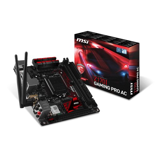 MSI Gaming Z170I PRO AC Skylake WiFi Mini ITX Mainboard