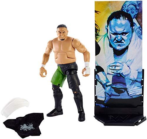 WWE Figura Elite Wrestlemania de acción, luchador Samoa Joe (Mattel FMG38)