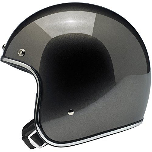 Biltwell Bonanza Solid Mens Open-Face Street Motorcycle Helmet Gloss Copper//Medium