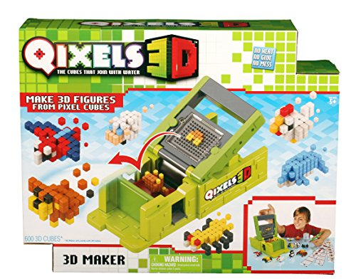 Qixels 87053 3D Maker, Multi-Colored, One Size