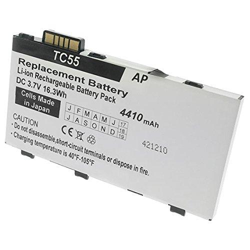 Artisan Power Batería de repuesto para los escáneres de la serie Motorola/Symbol TC55.4410 mAh (capacidad extendida)